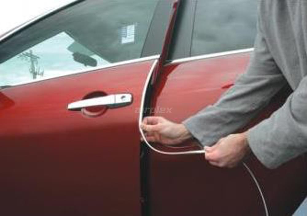 chrome door edge trim