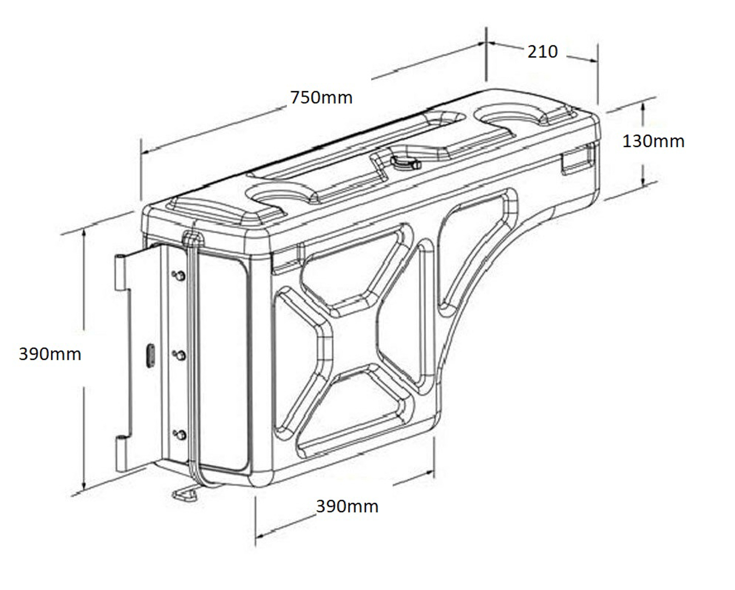 Swing Case Dimensions