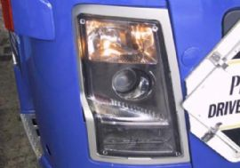 truck leadlight covers