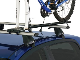 roof racks sports bike snow water