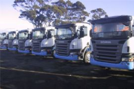 scania nz truck stone guard