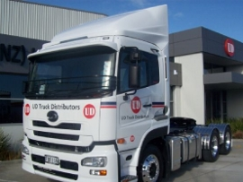 UD trucks sunvisor