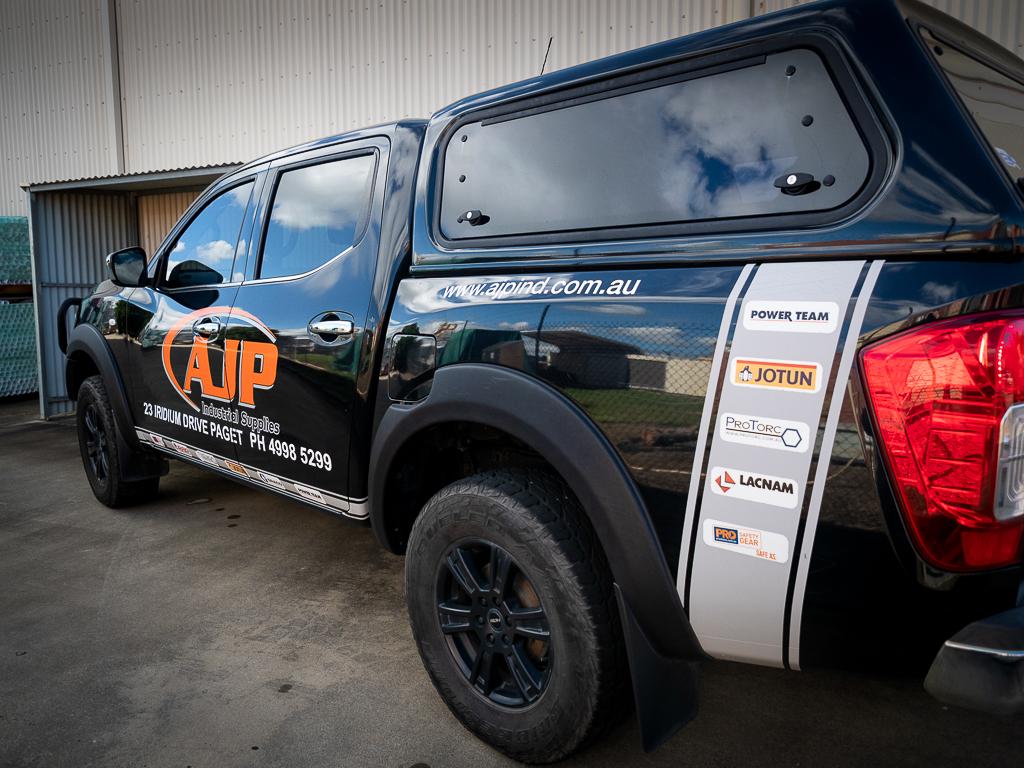 AJP Industrial Supplies Brands Ute