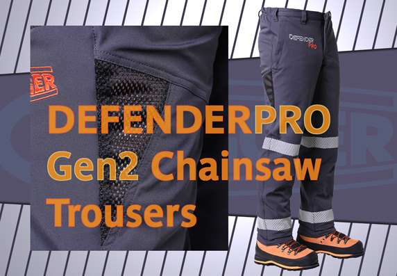 Clogger DefenderPro Chainsaw Trousers - XS to 3XL