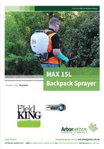 Fieldking Professional Backpack Sprayer 15L