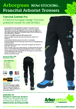 Francital Everest Pro Chainsaw Trousers
