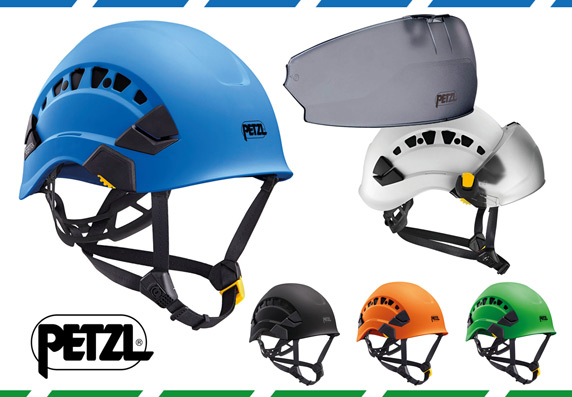PETZL range of Helmets, Carabiners, Sequoia Harnesses, Ascenders and Micrograbs