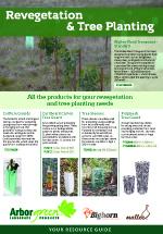 Revegetation & Tree Planting