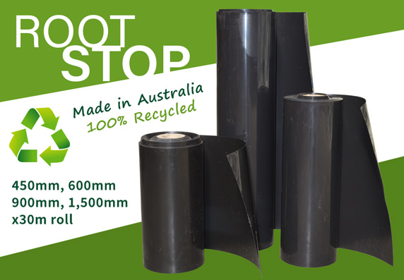 RootSTOP Tree Root Barrier - 100% Recycled - Made in Australia