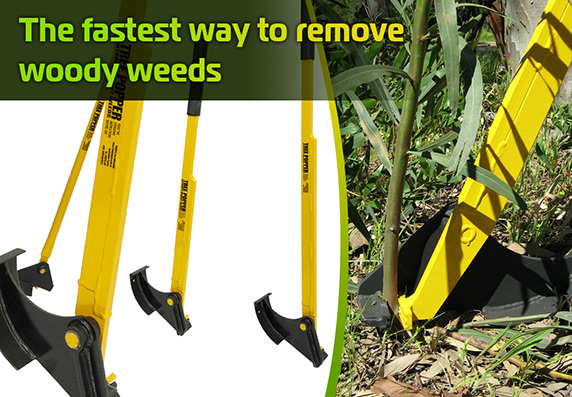 Tree Poppers - The Fastest Way to Remove Woody Weeds
