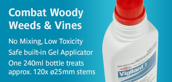 Combat Woody Weeds & Vines with Vigilant Herbicide Gel