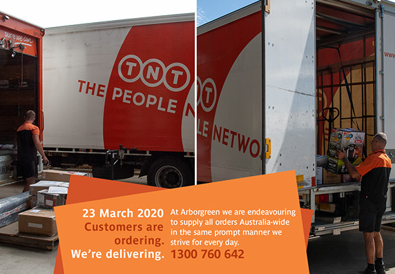Our customers are ordering. We Are Delivering.