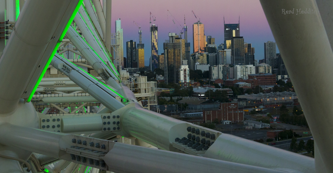 Star Wheel Melbourne View