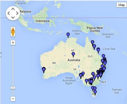 Stockist Map