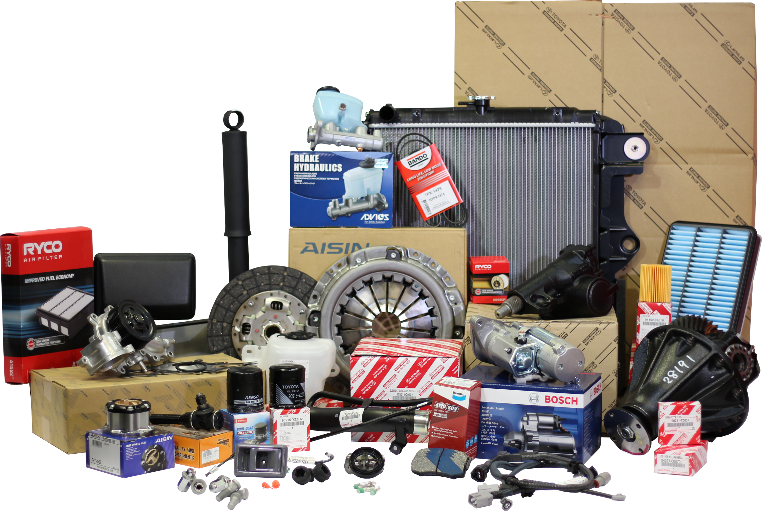 Landcruiser parts aftermarket and genuine toyota