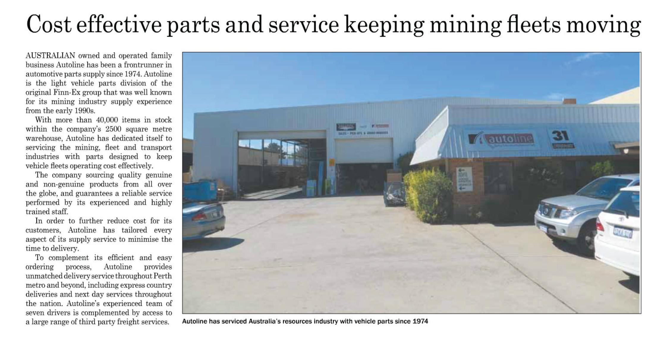Autoline Mining Review articales