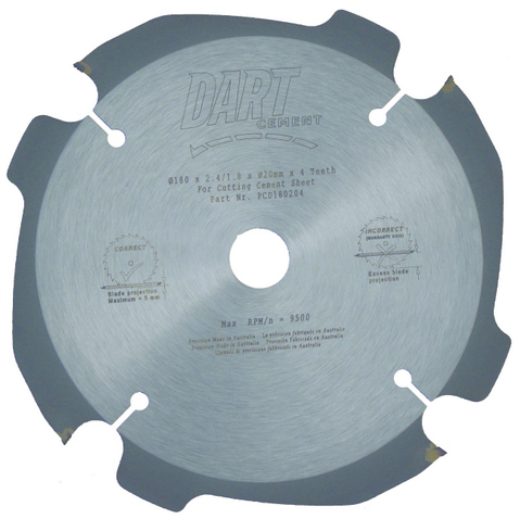 125mm Cement Sheet Blade