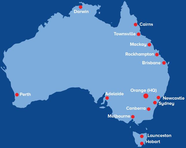 Across the nation - including regional Australia