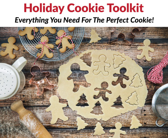 Holiday Cookie Toolkit Header