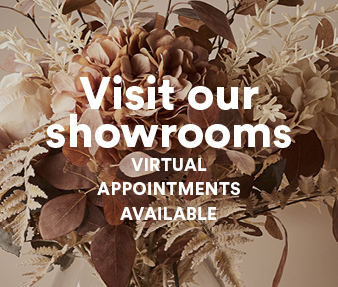Visit our showrooms Virtual Appointments Available