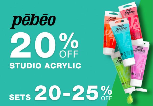 Pebeo Studio Acrylic Sale