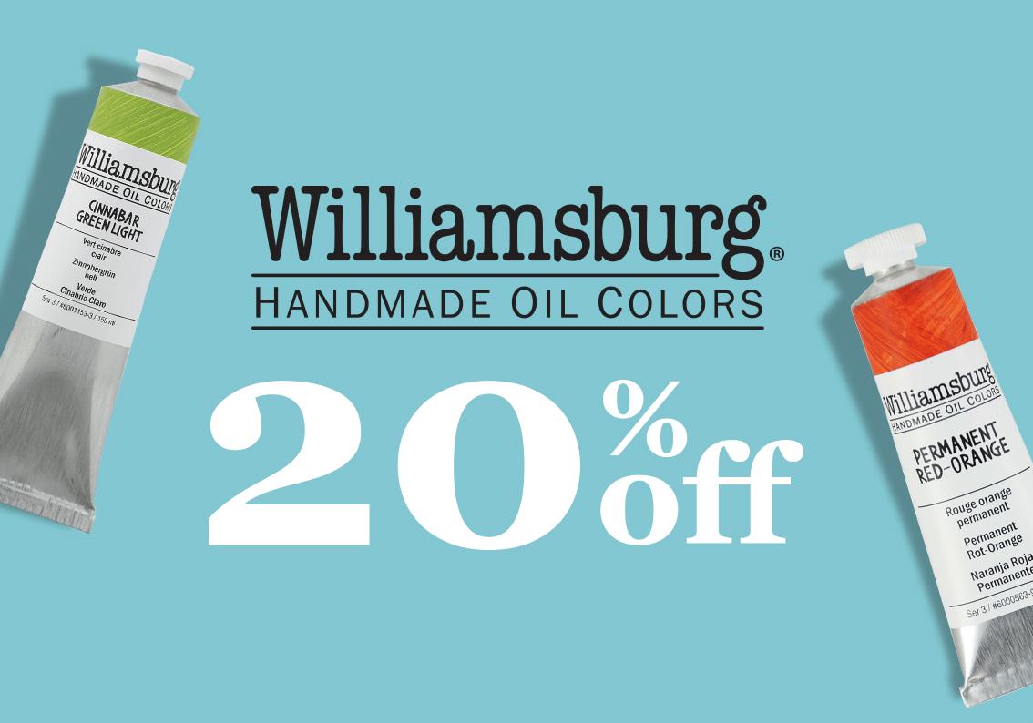 Williamsburg Handmade oil colors sale