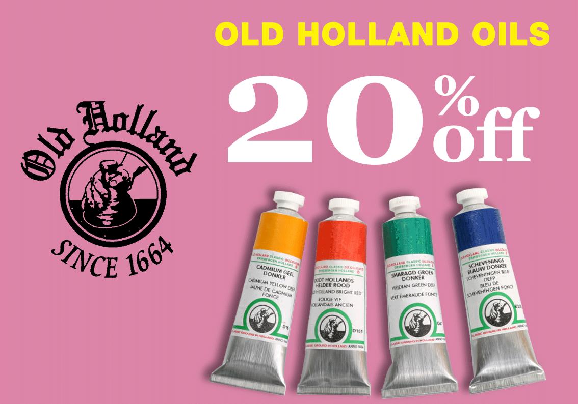 Old Holland Oils Sale