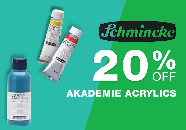 Schmincke Akademie Acrylics Sale