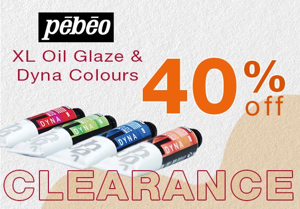 Pebeo XL Oil Paints Sale