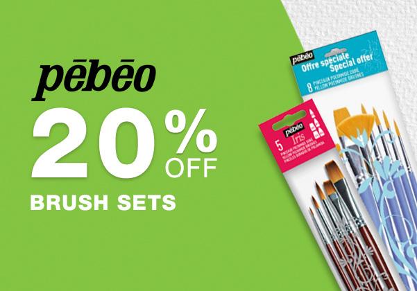 Pebeo Brush Sets Sale