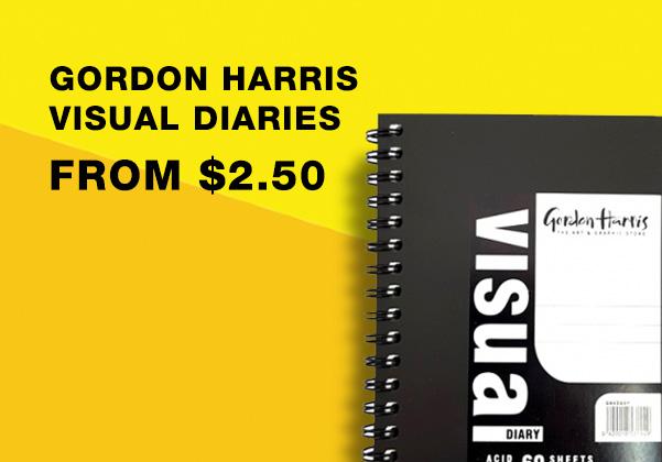 Gordon Harris Visual Diaries Sale