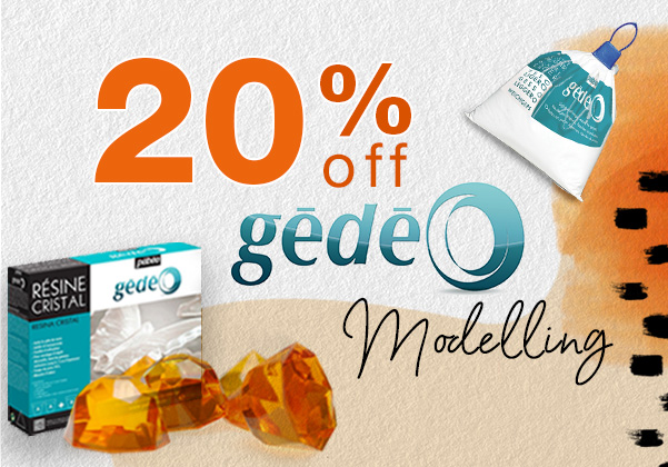 20% off Gedeo Modelling