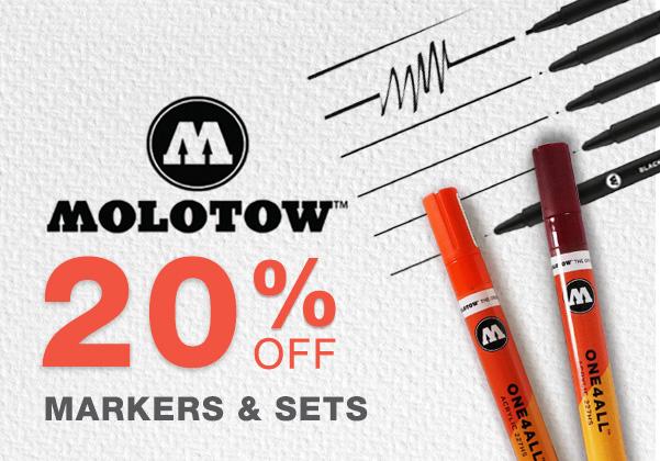 Molotow Blackliners Sale
