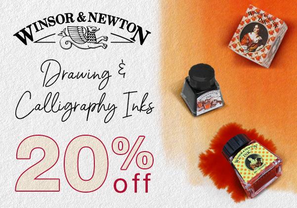 winsor newton inks sale