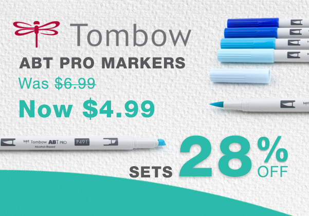 Tombow ABT Pro Markers Sale