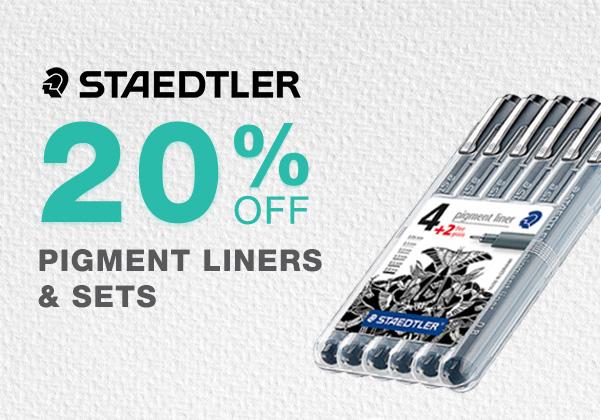 Staedler Pigment Liner Sale