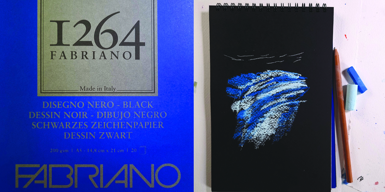 Fabriano 1264 black pads