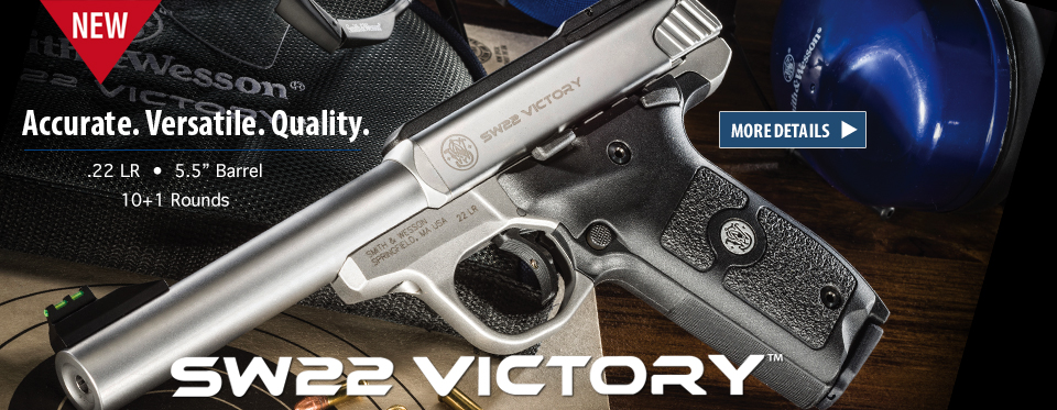 New S&W .22 Victory
