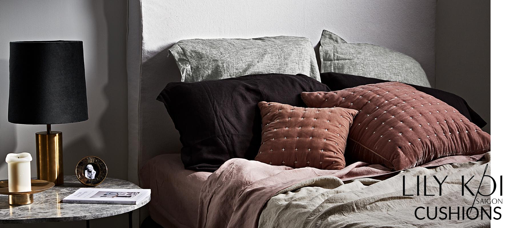 Horgans Lily Koi Cushions