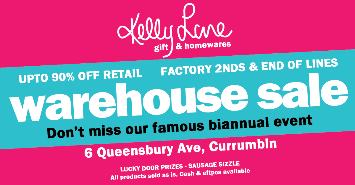 Kelly Lane Warehouse Sale