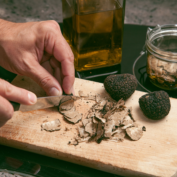 Cutting Truffle
