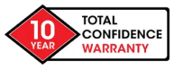 10 year total confidence warranty