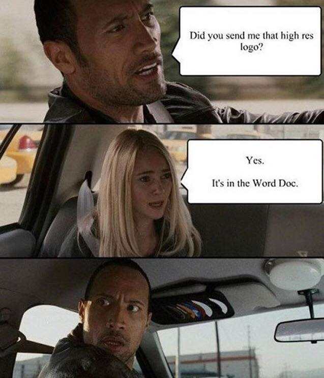 Word docs for artwork