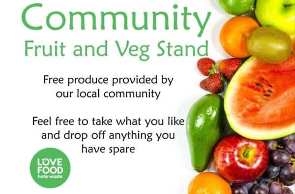 Community Fruit and Veg Stand Torbay is supported by Monty's Promotions