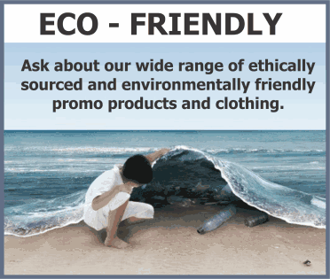 Eco Friendly Promotional Items and Clothing