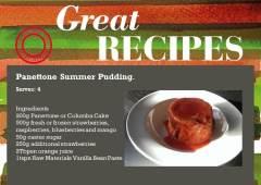 Panettone Summer Pudding