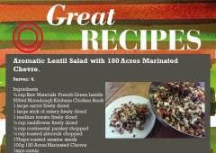 Aromatic Lentil Salad Recipe
