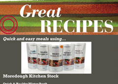 Quick and Easy Meals using Stock