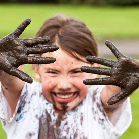 Kids carpet stains