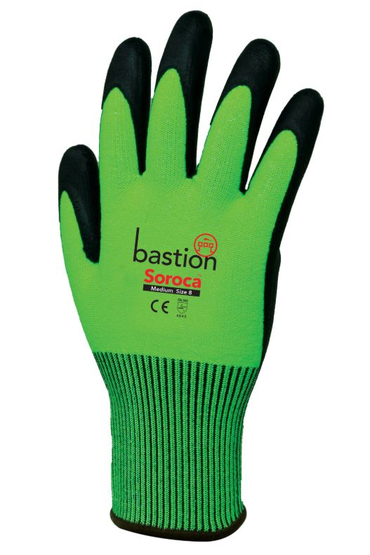 SOROCA CUT 5 GREEN GLOVES